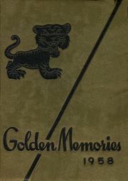 1958 Edition, Fayette County High School - Golden Memories Yearbook (Fayetteville, GA)