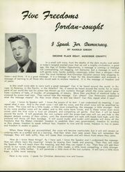 Page 10, 1953 Edition, Jordan Vocational High School - Red Jacket Yearbook (Columbus, GA) online yearbook collection