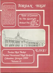 Page 5, 1978 Edition, Jordan Vocational High School - Red Jacket Yearbook (Columbus, GA) online yearbook collection
