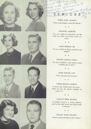 Page 15, 1950 Edition, Newnan High School - Empyrean Yearbook (Newnan, GA) online yearbook collection
