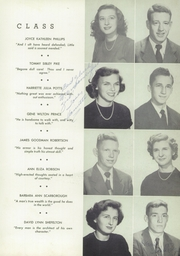 Page 17, 1950 Edition, Newnan High School - Empyrean Yearbook (Newnan, GA) online yearbook collection