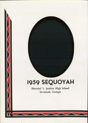 Page 6, 1959 Edition, Jenkins High School - Sequoyah Yearbook (Savannah, GA) online yearbook collection