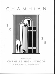 Page 2, 1938 Edition, Chamblee High School - Chamihan Yearbook (Chamblee, GA) online yearbook collection