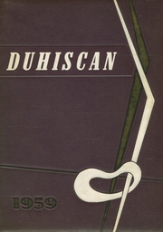 Page 1, 1959 Edition, Duluth High School - Duhiscan Yearbook (Duluth, GA) online yearbook collection
