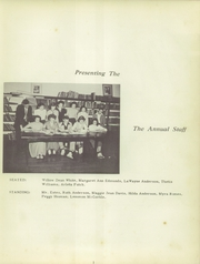 Page 5, 1950 Edition, Statesboro High School - Criterion Yearbook (Statesboro, GA) online yearbook collection