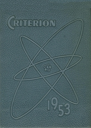 1953 Edition, Statesboro High School - Criterion Yearbook (Statesboro, GA)