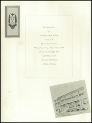 Page 14, 1953 Edition, Northside High School - Viking Yearbook (Atlanta, GA) online yearbook collection