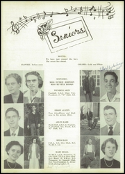 Page 14, 1951 Edition, Carrollton High School - Arrowhead Yearbook (Carrollton, GA) online yearbook collection