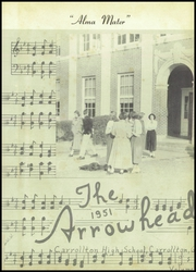 Page 5, 1951 Edition, Carrollton High School - Arrowhead Yearbook (Carrollton, GA) online yearbook collection