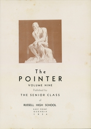 Page 7, 1934 Edition, Russell High School - Pointer Yearbook (East Point, GA) online yearbook collection