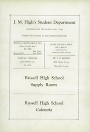 Page 10, 1939 Edition, Russell High School - Pointer Yearbook (East Point, GA) online yearbook collection