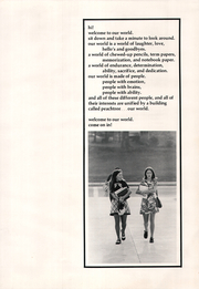 Page 7, 1972 Edition, Peachtree High School - Beacon Yearbook (Dunwoody, GA) online yearbook collection