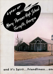 Page 6, 1962 Edition, Mary Persons High School - Empescope Yearbook (Forsyth, GA) online yearbook collection