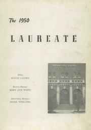 Page 5, 1950 Edition, Brown High School - Laureate Yearbook (Atlanta, GA) online yearbook collection