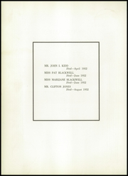 Page 10, 1953 Edition, Brown High School - Laureate Yearbook (Atlanta, GA) online yearbook collection