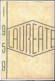 1959 Edition, Brown High School - Laureate Yearbook (Atlanta, GA)