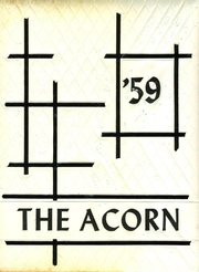1959 Edition, Cook High School - Acorn Yearbook (Adel, GA)