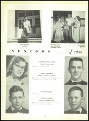 Page 16, 1954 Edition, Rockmart High School - Yellowjacket Yearbook (Rockmart, GA) online yearbook collection