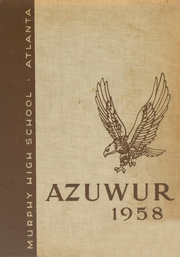 1958 Edition, Murphy High School - Azuwur Yearbook (Atlanta, GA)
