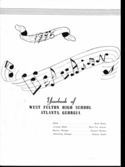 Page 3, 1946 Edition, West Fulton High School - Wefuhian Yearbook (Atlanta, GA) online yearbook collection