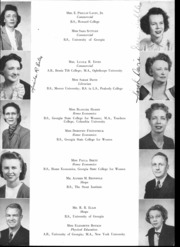 Page 17, 1947 Edition, West Fulton High School - Wefuhian Yearbook (Atlanta, GA) online yearbook collection