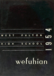 Page 1, 1954 Edition, West Fulton High School - Wefuhian Yearbook (Atlanta, GA) online yearbook collection