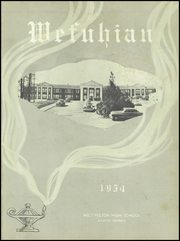 Page 5, 1954 Edition, West Fulton High School - Wefuhian Yearbook (Atlanta, GA) online yearbook collection