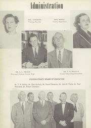 Page 6, 1957 Edition, Pickens County High School - Sequoyhan Yearbook (Jasper, GA) online yearbook collection