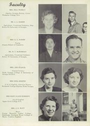 Page 9, 1957 Edition, Pickens County High School - Sequoyhan Yearbook (Jasper, GA) online yearbook collection
