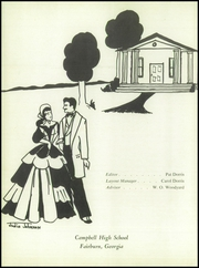Page 6, 1959 Edition, Campbell High School - Highlander Yearbook (Fairburn, GA) online yearbook collection