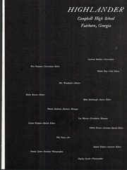 Page 5, 1970 Edition, Campbell High School - Highlander Yearbook (Fairburn, GA) online yearbook collection