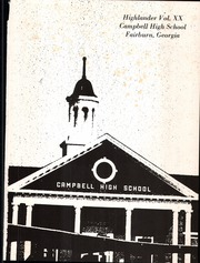 Page 5, 1971 Edition, Campbell High School - Highlander Yearbook (Fairburn, GA) online yearbook collection