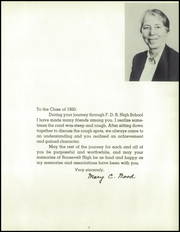Page 9, 1950 Edition, Franklin Roosevelt High School - Orbit Yearbook (Hyde Park, NY) online yearbook collection