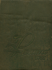 1953 Edition, Southwest High School - Resume Yearbook (Atlanta, GA)