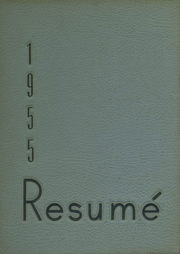 1955 Edition, Southwest High School - Resume Yearbook (Atlanta, GA)