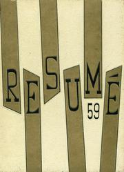 1959 Edition, Southwest High School - Resume Yearbook (Atlanta, GA)