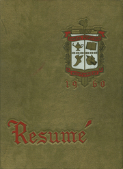 1960 Edition, Southwest High School - Resume Yearbook (Atlanta, GA)