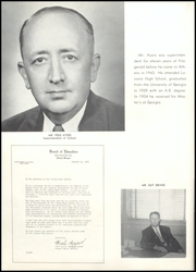 Page 12, 1955 Edition, Athens High School - Maroon Yearbook (Athens, GA) online yearbook collection