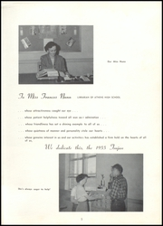Page 9, 1955 Edition, Athens High School - Maroon Yearbook (Athens, GA) online yearbook collection