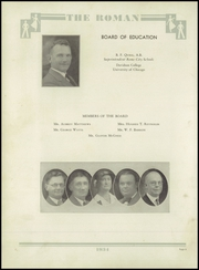 Page 10, 1934 Edition, Rome High School - Roman Yearbook (Rome, GA) online yearbook collection