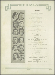 Page 14, 1934 Edition, Rome High School - Roman Yearbook (Rome, GA) online yearbook collection