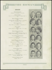 Page 15, 1934 Edition, Rome High School - Roman Yearbook (Rome, GA) online yearbook collection