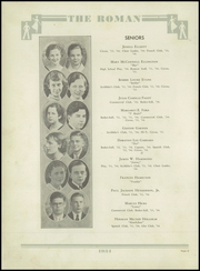 Page 16, 1934 Edition, Rome High School - Roman Yearbook (Rome, GA) online yearbook collection