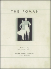 Page 7, 1934 Edition, Rome High School - Roman Yearbook (Rome, GA) online yearbook collection