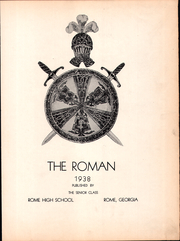 Page 7, 1938 Edition, Rome High School - Roman Yearbook (Rome, GA) online yearbook collection