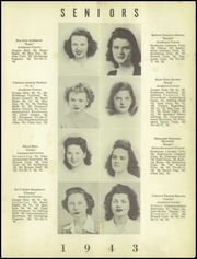 Page 13, 1943 Edition, Rome High School - Roman Yearbook (Rome, GA) online yearbook collection