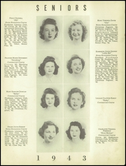 Page 15, 1943 Edition, Rome High School - Roman Yearbook (Rome, GA) online yearbook collection
