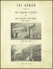 Page 5, 1943 Edition, Rome High School - Roman Yearbook (Rome, GA) online yearbook collection