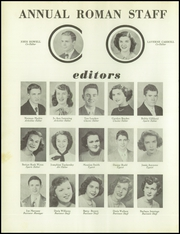 Page 10, 1950 Edition, Rome High School - Roman Yearbook (Rome, GA) online yearbook collection