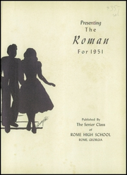Page 5, 1951 Edition, Rome High School - Roman Yearbook (Rome, GA) online yearbook collection